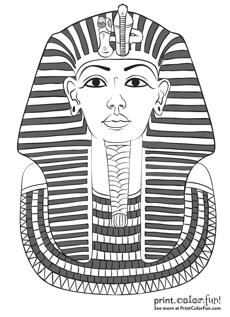 king tut coloring page king tut mask coloring page print color fun page king coloring tut