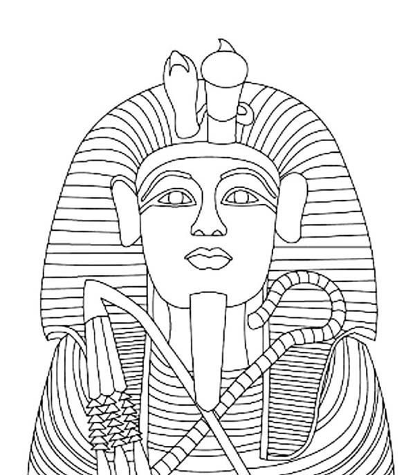 king tut coloring page the outer layer of king tut gold coffin coloring page king tut page coloring