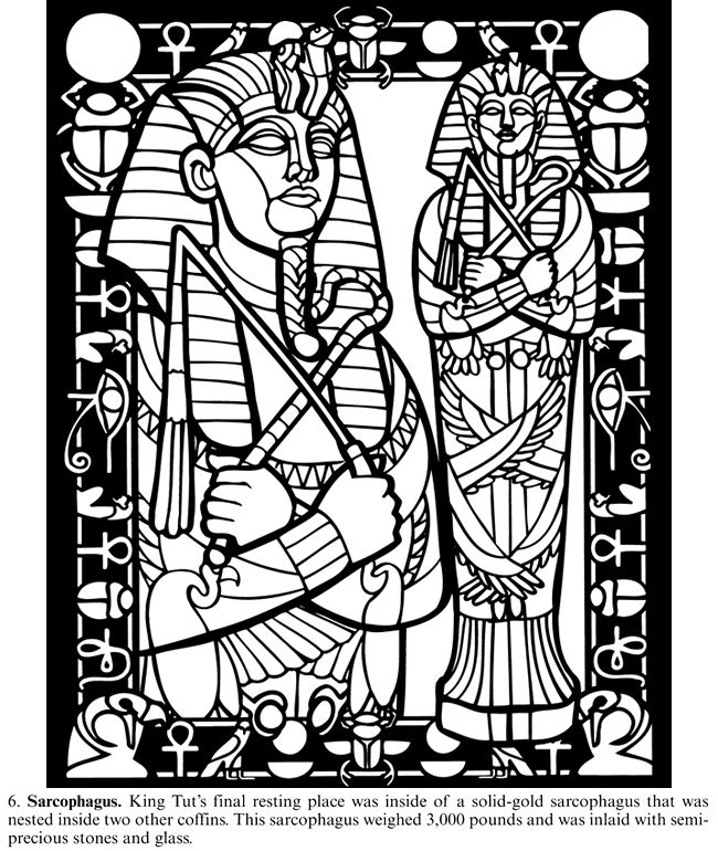 king tut coloring page welcome to dover publications coloring pages coloring king page tut coloring