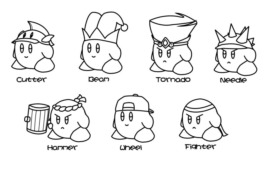 kirby star allies coloring pages kirby star allies coloring pages berbagi ilmu belajar coloring kirby star allies pages