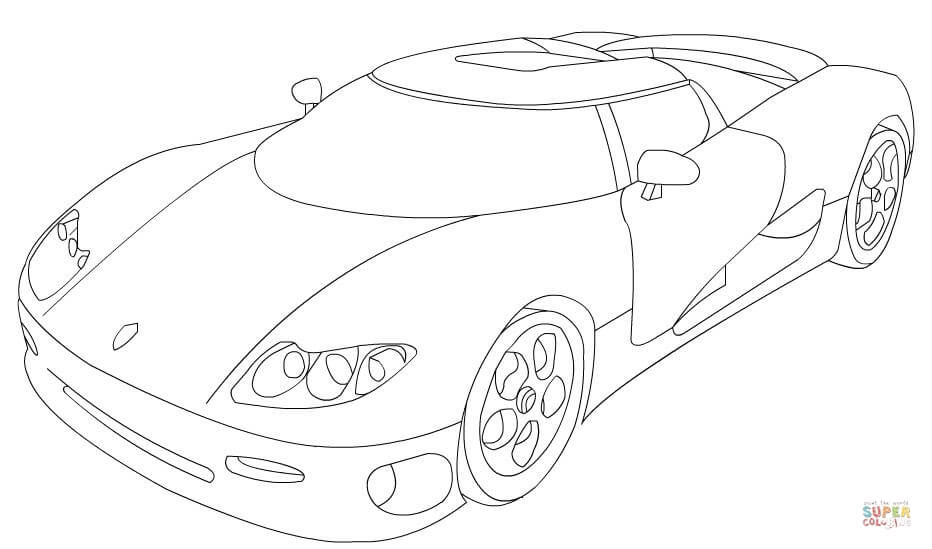 koenigsegg coloring pages koenigsegg drawing coloring pages pages coloring koenigsegg