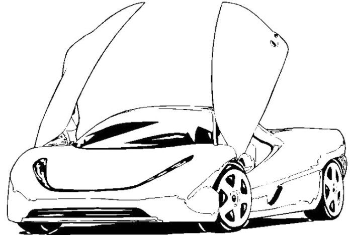 koenigsegg coloring pages koenigsegg supercars coloring page koenigsegg super koenigsegg pages coloring
