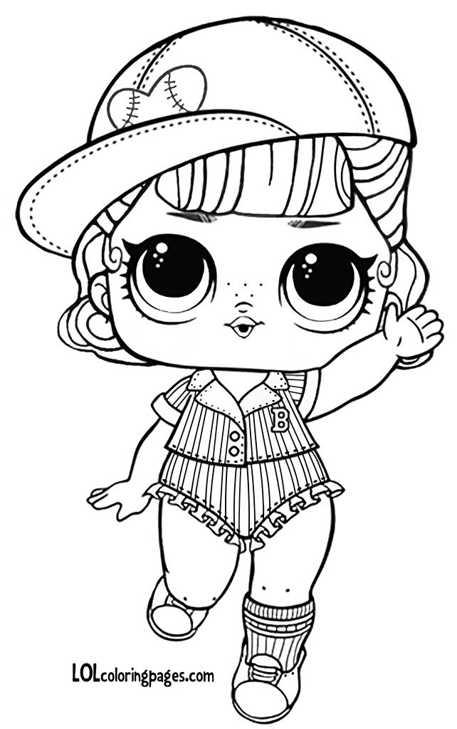 l.o.l coloring pages short stop series 3 wave 2 lol surprise doll coloring pages coloring l.o.l