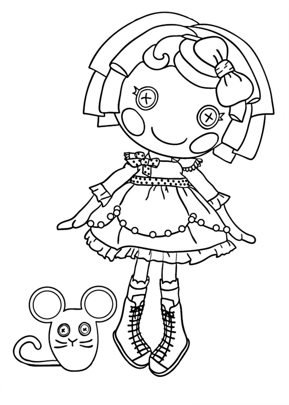 lalaloopsy pictures how to draw lalaloopsy youtube pictures lalaloopsy