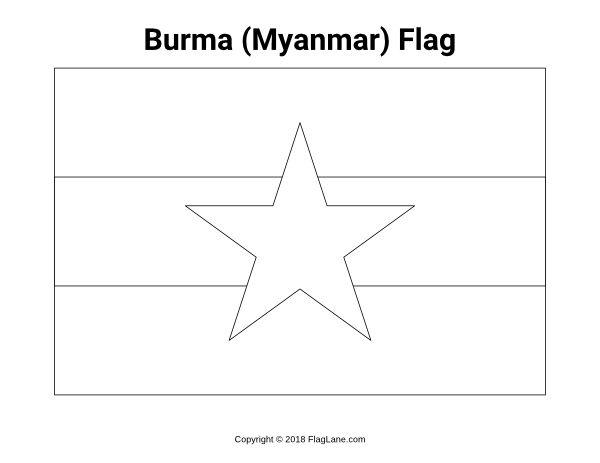 laos flag coloring page world flags coloring pages 4 coloring flag page laos