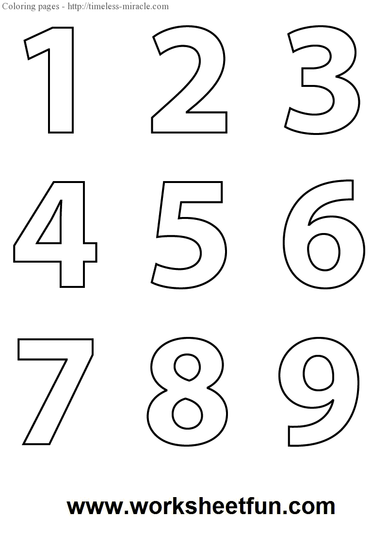 large number coloring pages coloring pages numbers 1 10 printable coloring pages for large coloring pages number