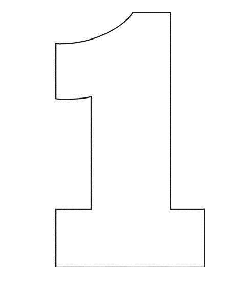 large number coloring pages coloring pages stencil of number 1 birthday coloring large number pages coloring