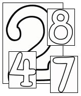 large number coloring pages teach kids numbers printable number pages all kids network number coloring large pages