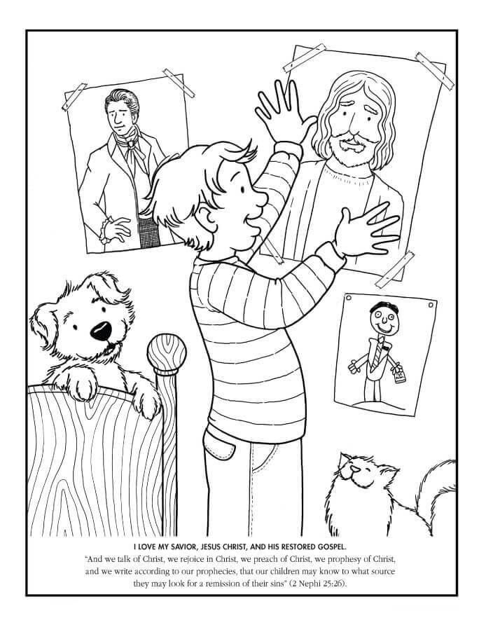 lds coloring pages lds coloring pages 2014 my father39s world lds pages coloring lds