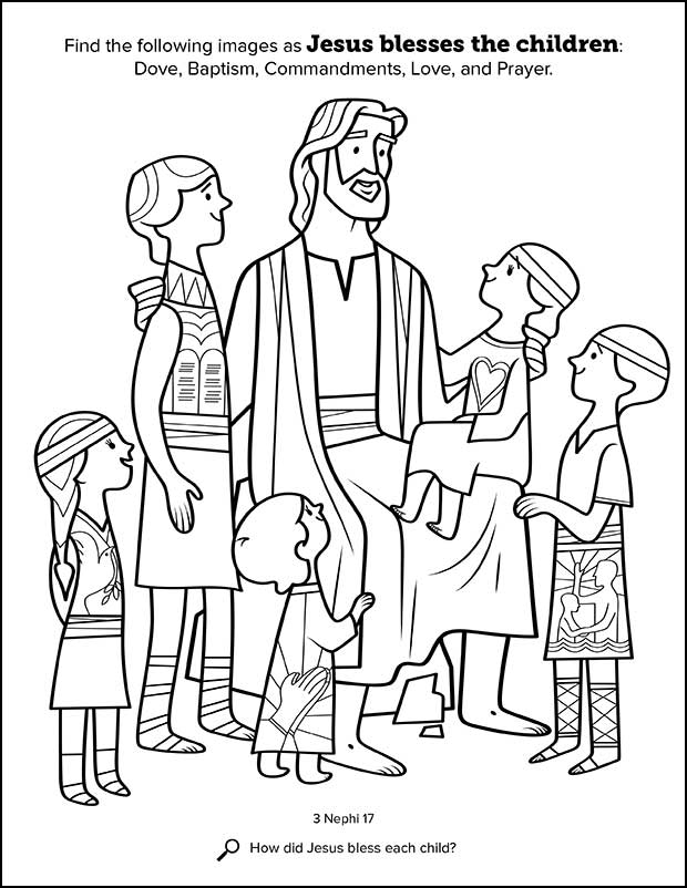 lds coloring pages primary coloring page from ldsorg a little boy comforts coloring lds pages