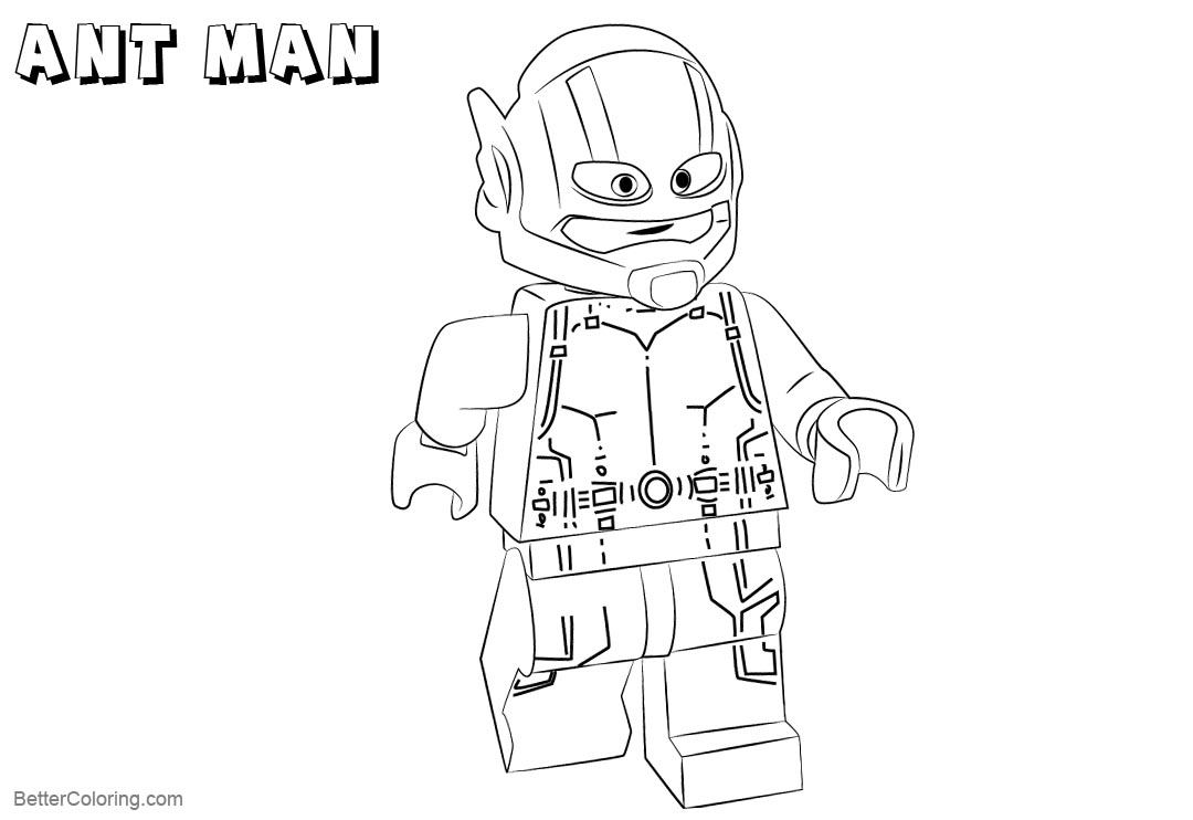 lego ant man coloring page learn how to draw lego ant man lego step by step man ant lego coloring page