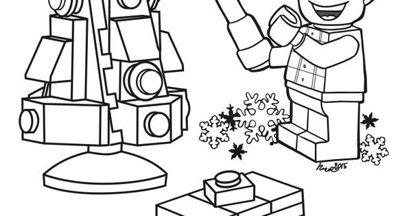 lego christmas coloring pages disegni da colorare lego albero di natale christmas coloring lego christmas pages