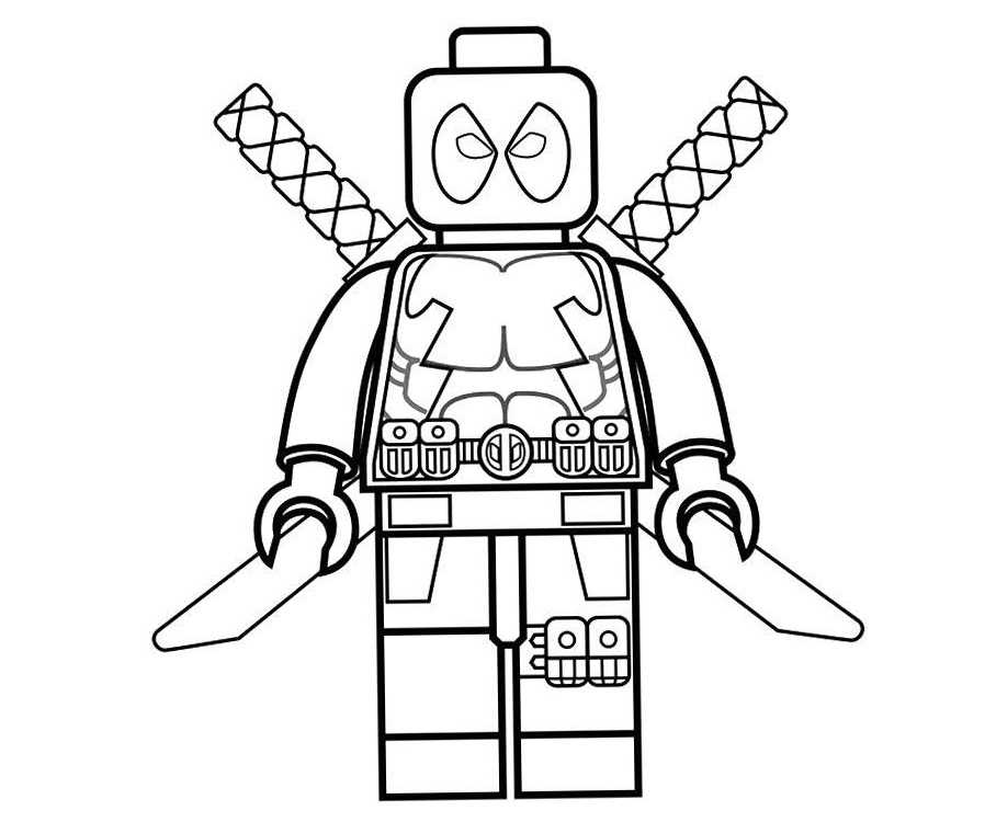 lego deadpool coloring pages cool lego deadpool coloring page free printable coloring pages lego coloring deadpool