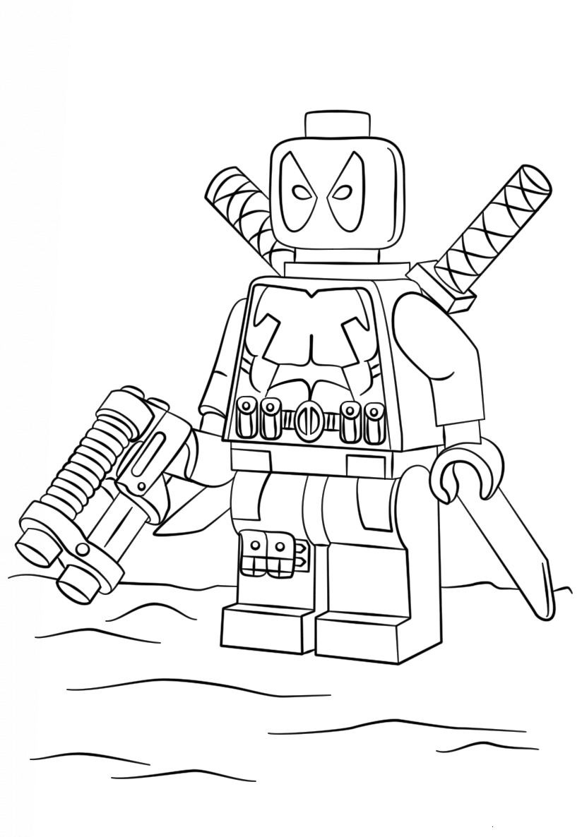 lego deadpool coloring pages lego deadpool coloring pages black and white free coloring lego deadpool pages