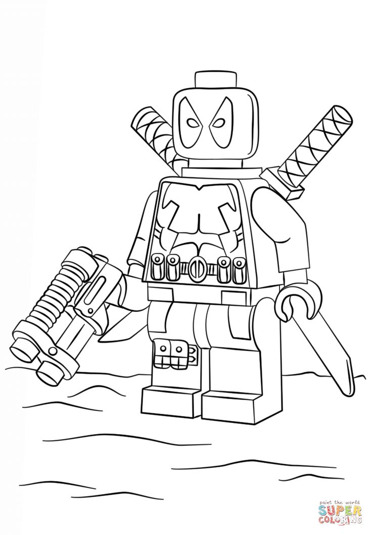 lego deadpool coloring pages lego deadpool super coloring lego coloring pages lego deadpool pages coloring
