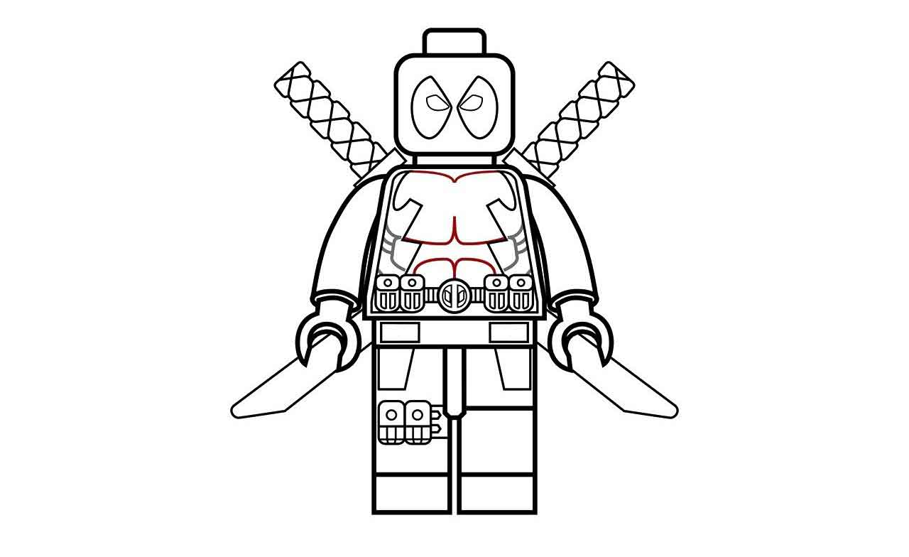 lego deadpool coloring pages marvel lego deadpool coloring pages carton deadpool images coloring deadpool lego pages