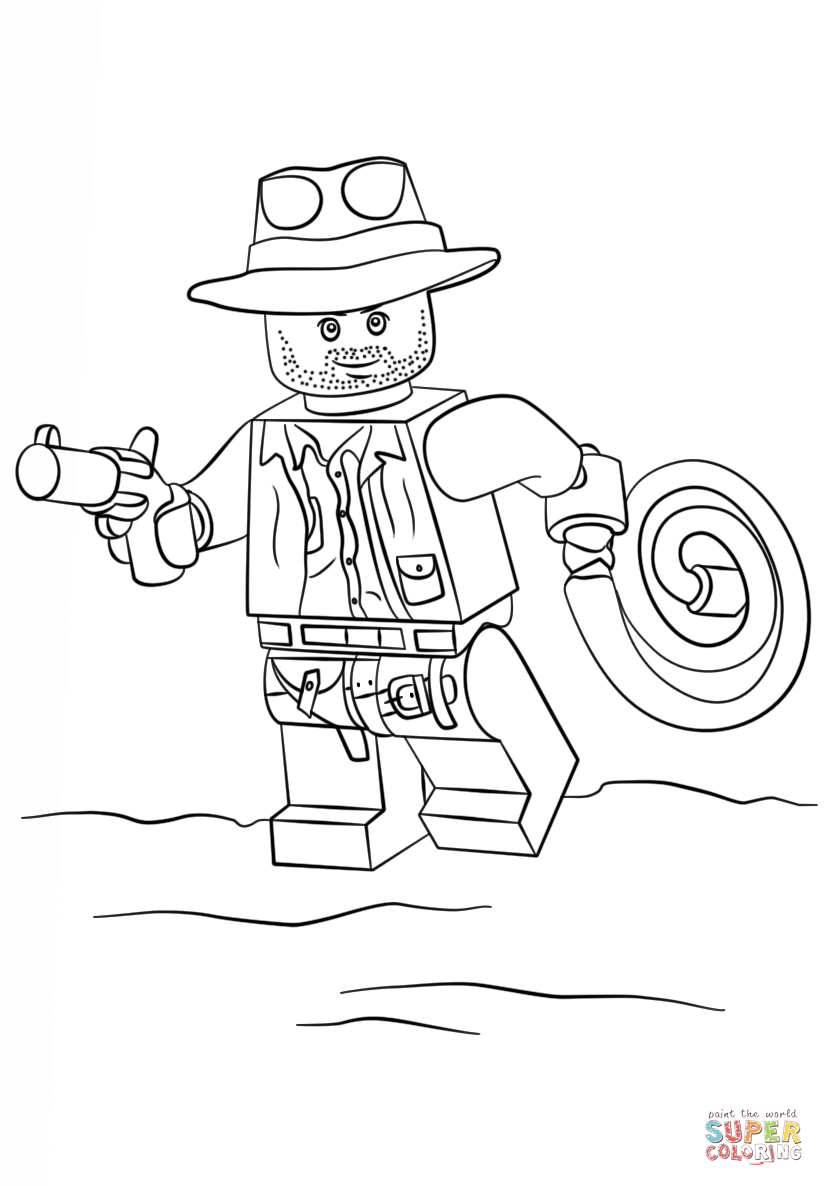 lego indiana jones coloring pages controlling craziness lego indiana jones birthday party coloring jones indiana lego pages