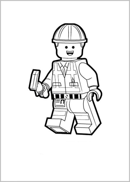 lego movie emmet coloring page lego film ausmalbilder 807 malvorlage lego ausmalbilder emmet page lego coloring movie