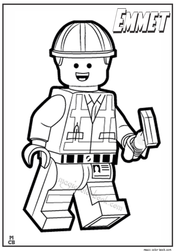 lego movie emmet coloring page lego minifigure coloring page at getcoloringscom free movie coloring emmet lego page