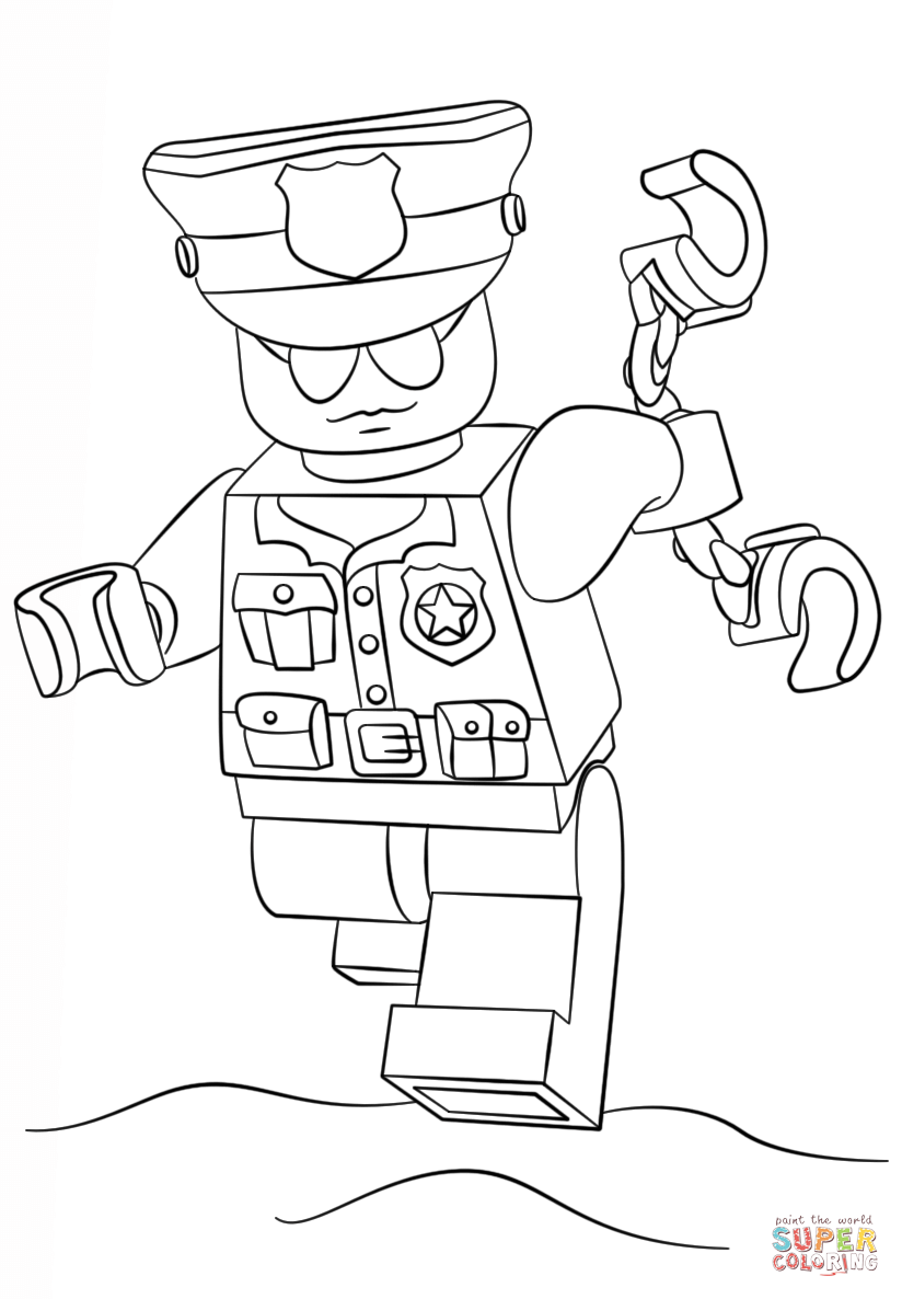 lego police officer coloring page lego police officer coloring page free coloring pages online officer coloring page police lego