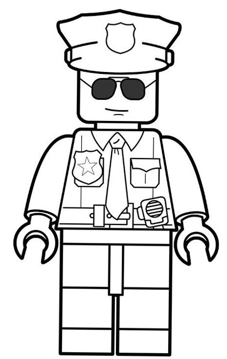 lego police officer coloring page lego police officer coloring page free printable lego coloring officer page police