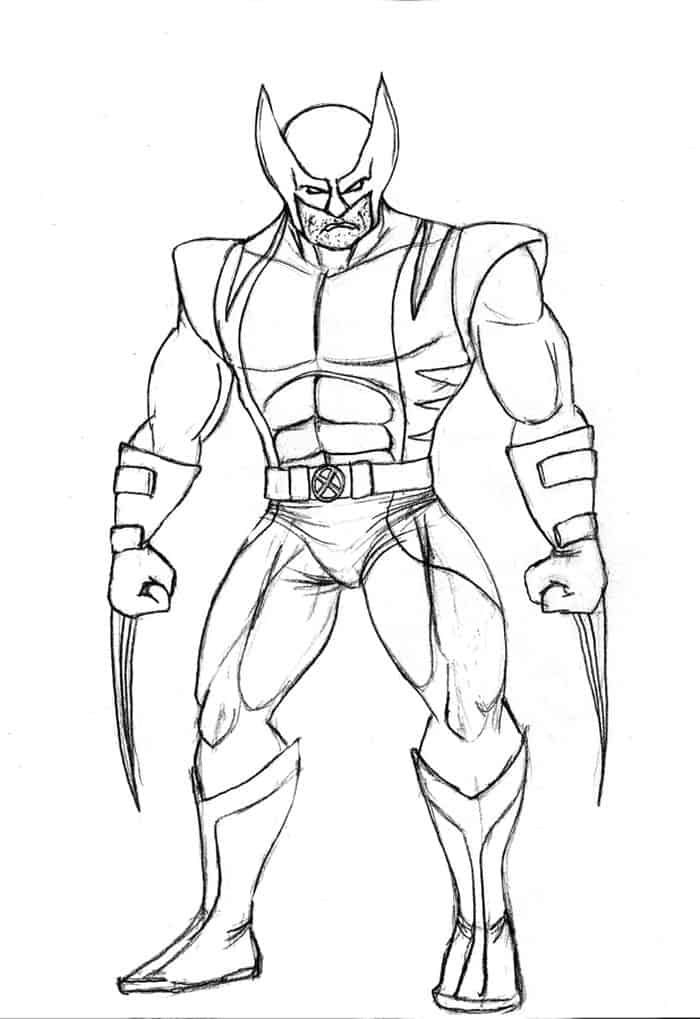 lego wolverine coloring pages wolverine coloring pages free in 2020 superman coloring lego pages wolverine coloring