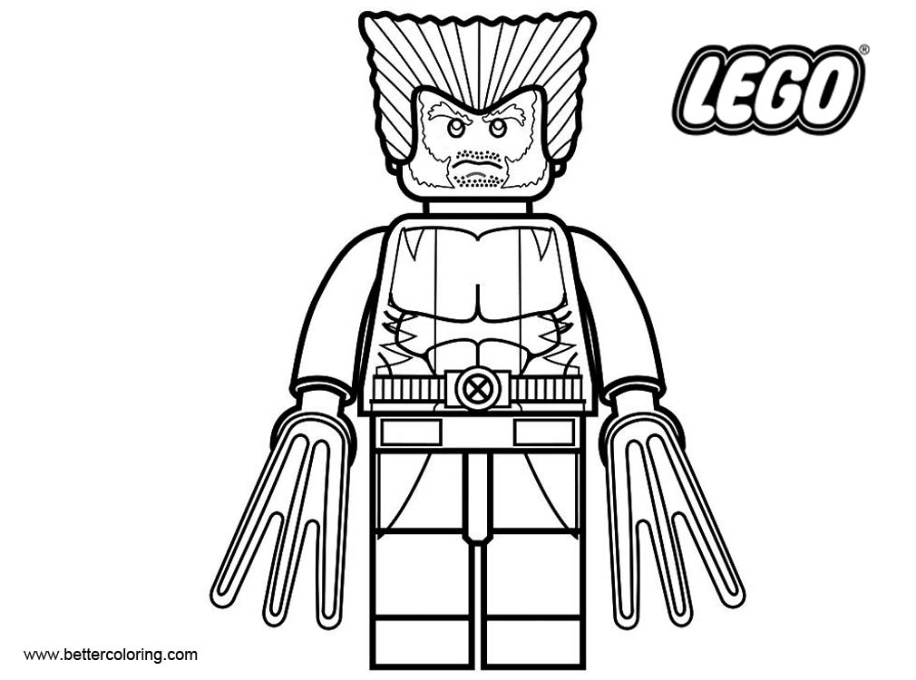 lego wolverine lego wolverine coloring pages wolverine lego