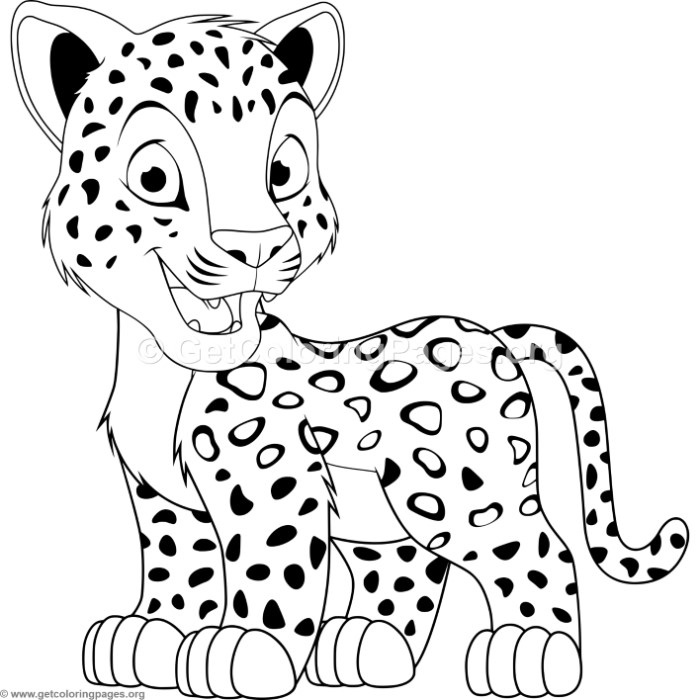 leopard pictures for kids top 25 free printable leopard coloring pages online kids pictures for leopard