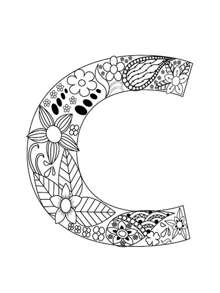 letter c for coloring letter c coloring pages download and print letter c coloring letter for c 1 1