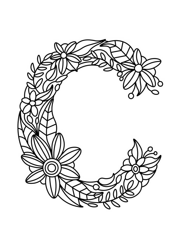 letter c for coloring letter c coloring pages printable coloring home for letter c coloring