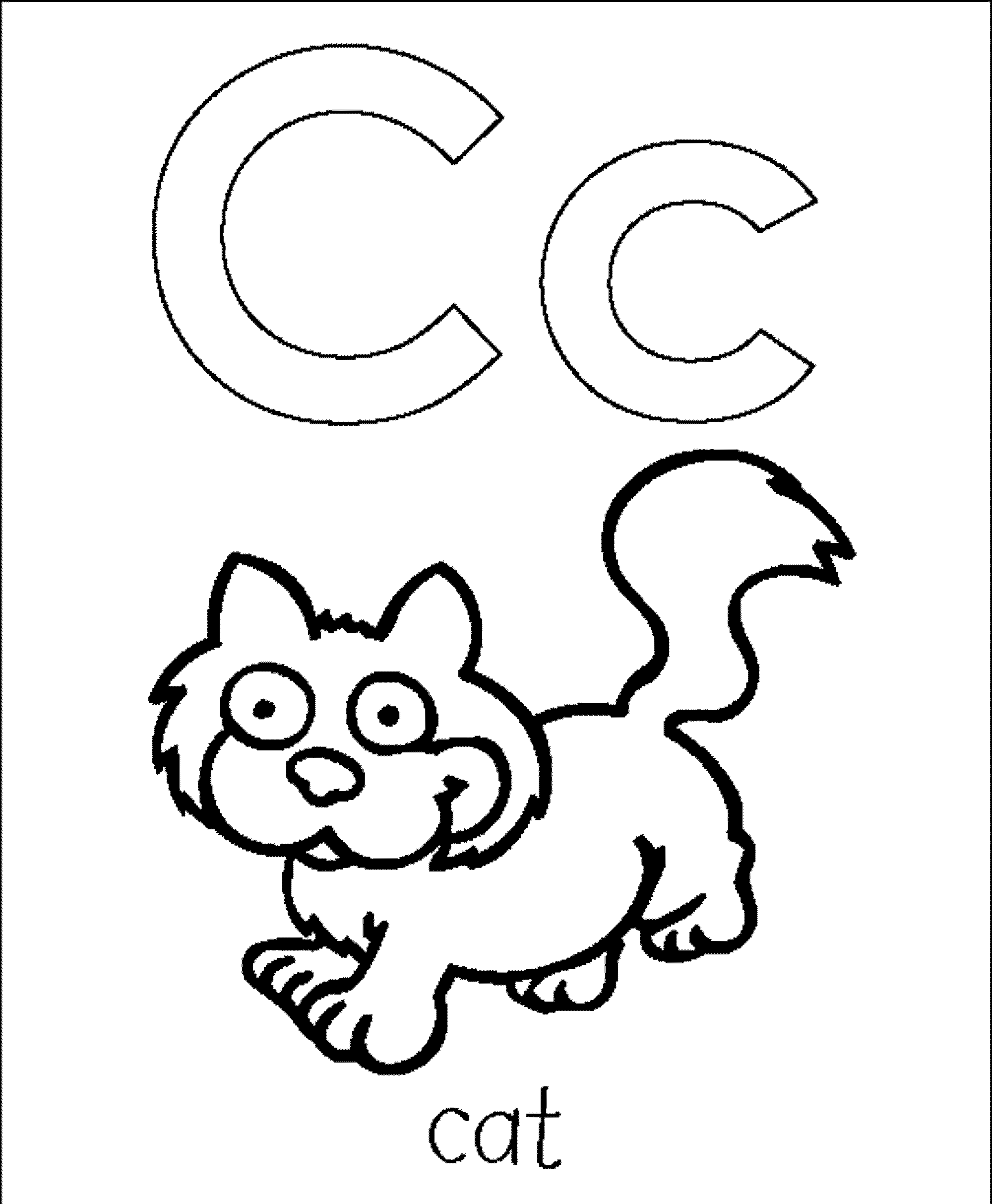 letter c for coloring letter c drawing at getdrawings free download for letter coloring c
