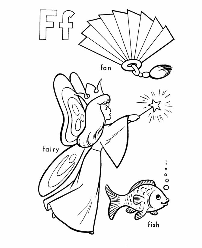 letter f coloring worksheets abc coloring sheets letter f is for fan fairy coloring letter f worksheets