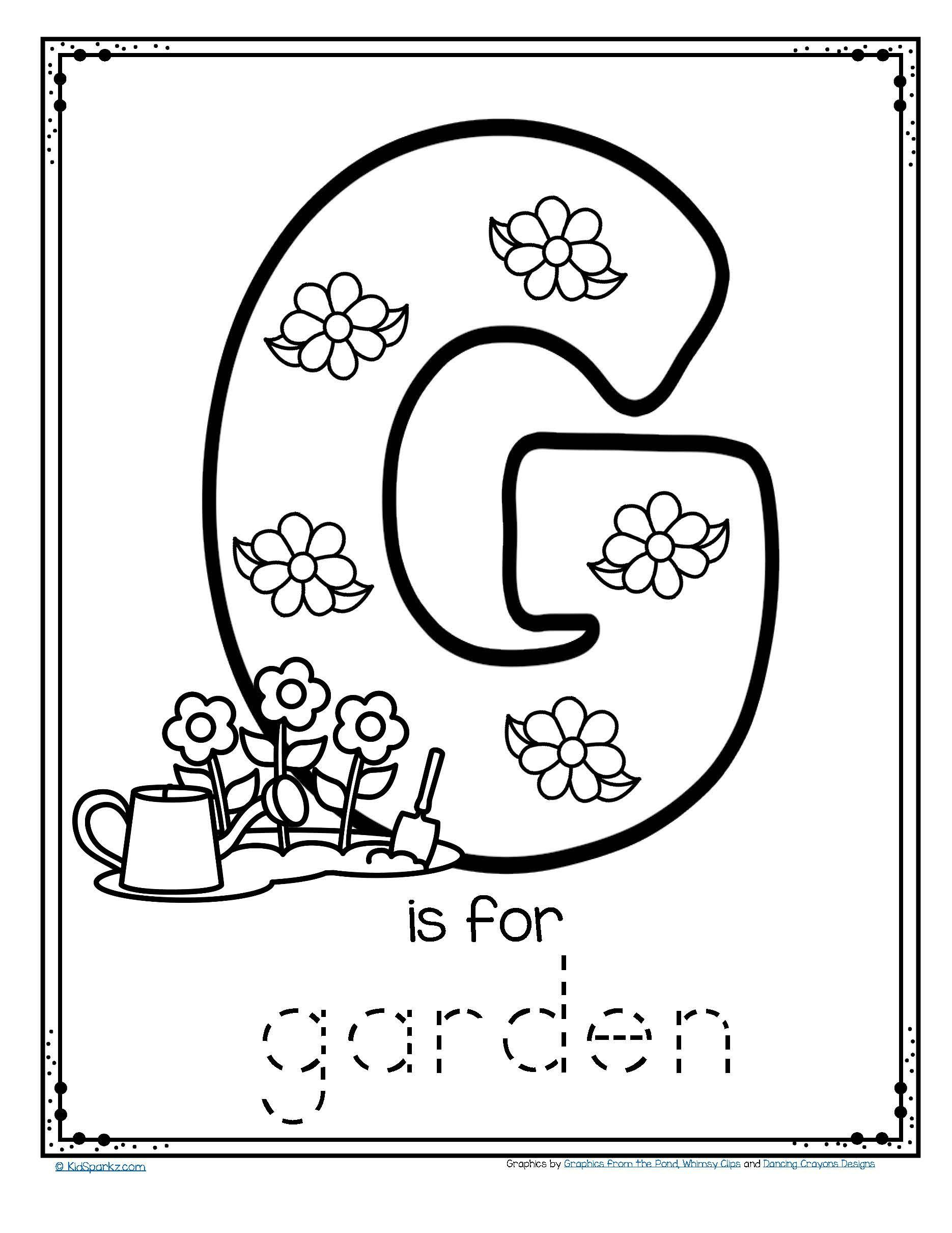 letter g coloring pages preschool free letter g printable coloring pages for kindergarten preschool letter coloring pages g