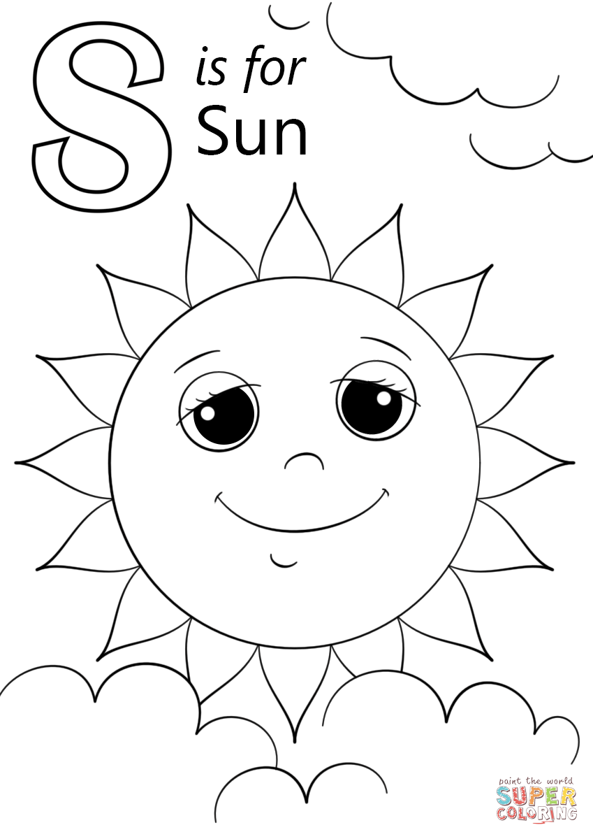 letter s coloring awesome s letters coloring page 01 with images coloring s letter