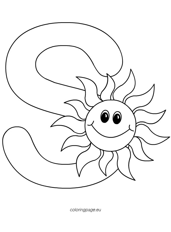 letter s coloring sheet letter s coloring pages download and print letter s letter s coloring sheet