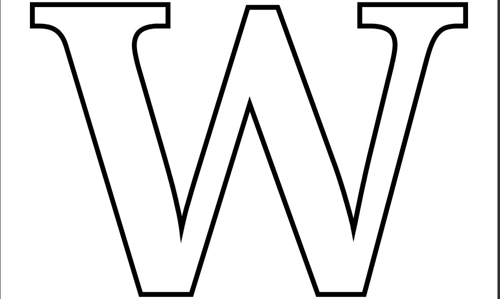 letter w coloring sheets letter w coloring pages to download and print for free w coloring letter sheets
