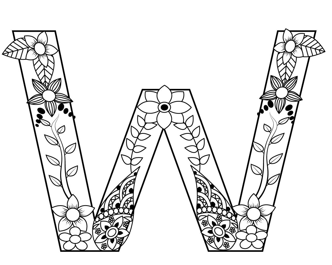 letter w coloring sheets letter w watermelon coloring page coloring sheets letter w