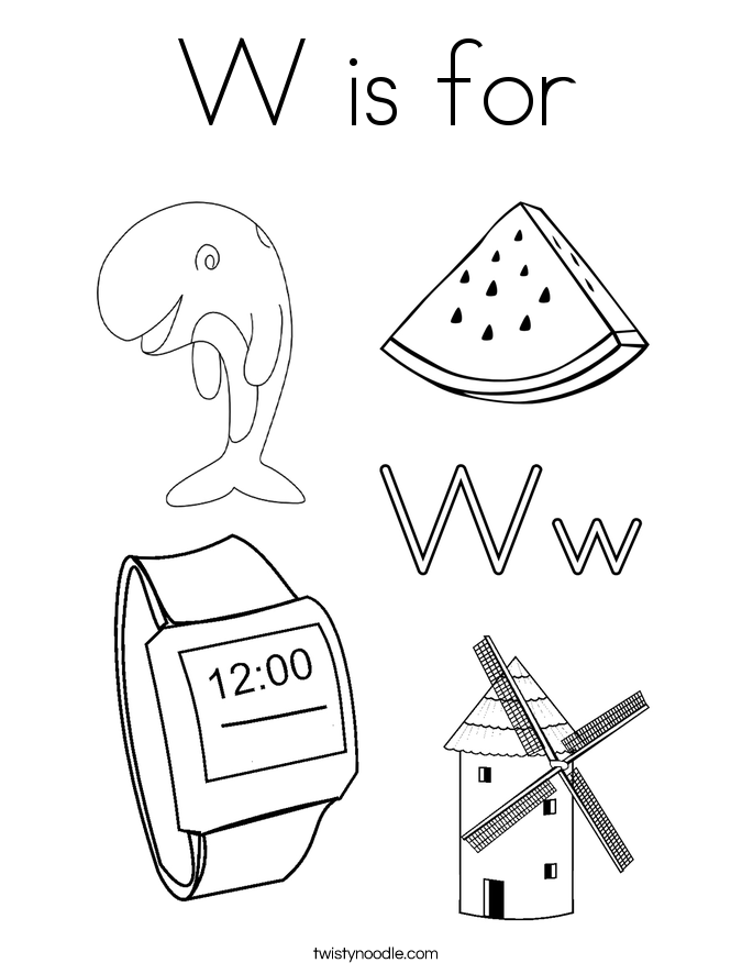 letter w coloring sheets stencil letter w clipart 20 free cliparts download letter coloring w sheets