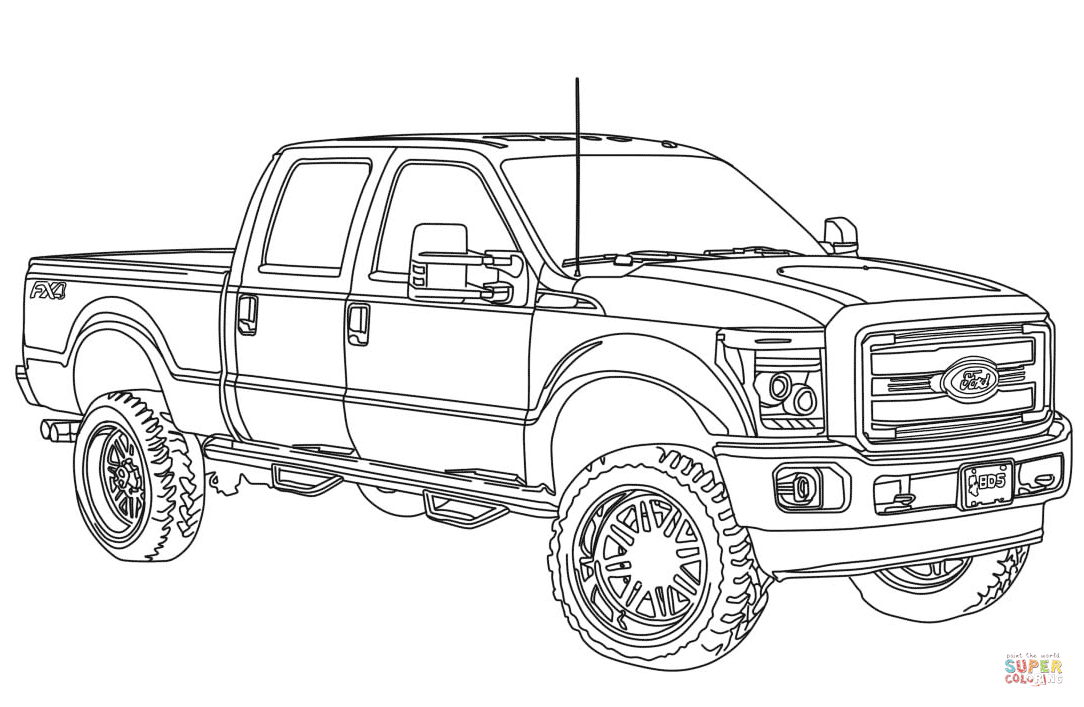 lifted truck coloring pages chevy truck coloring pages coloring home pages truck lifted coloring