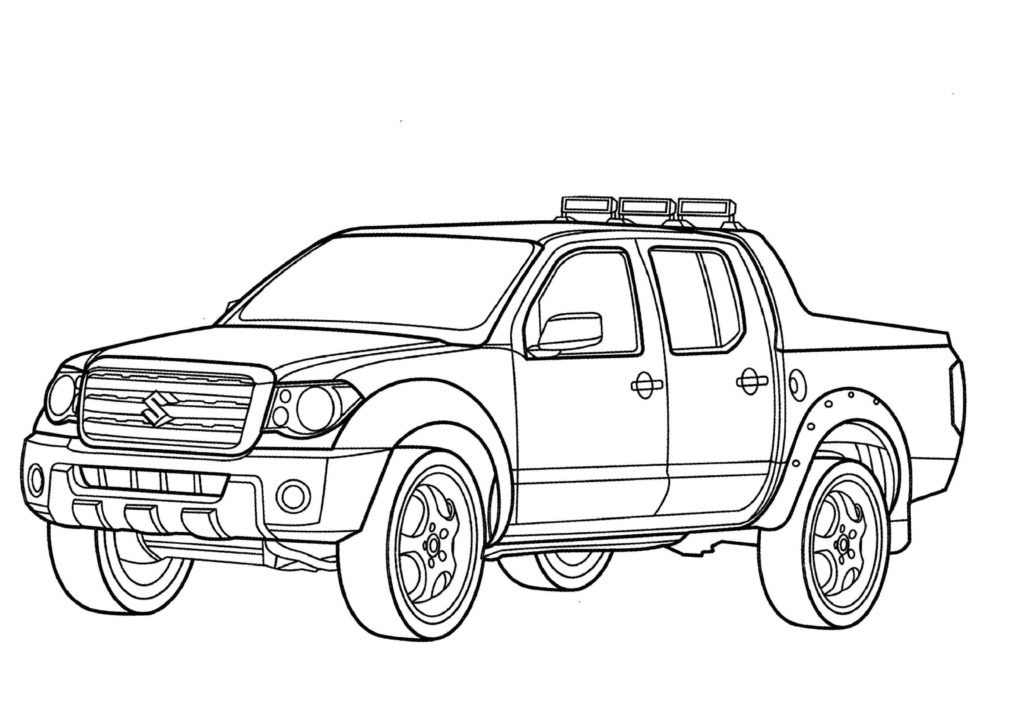 lifted truck coloring pages lifted truck coloring pages at getcoloringscom free coloring pages lifted truck