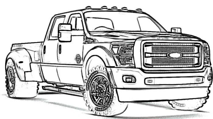lifted truck coloring pages lifted truck coloring pages at getdrawings free download lifted pages truck coloring
