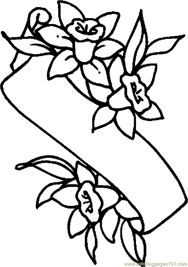 lily flower coloring pages lily flower drawing pictures at getdrawings free download pages flower coloring lily