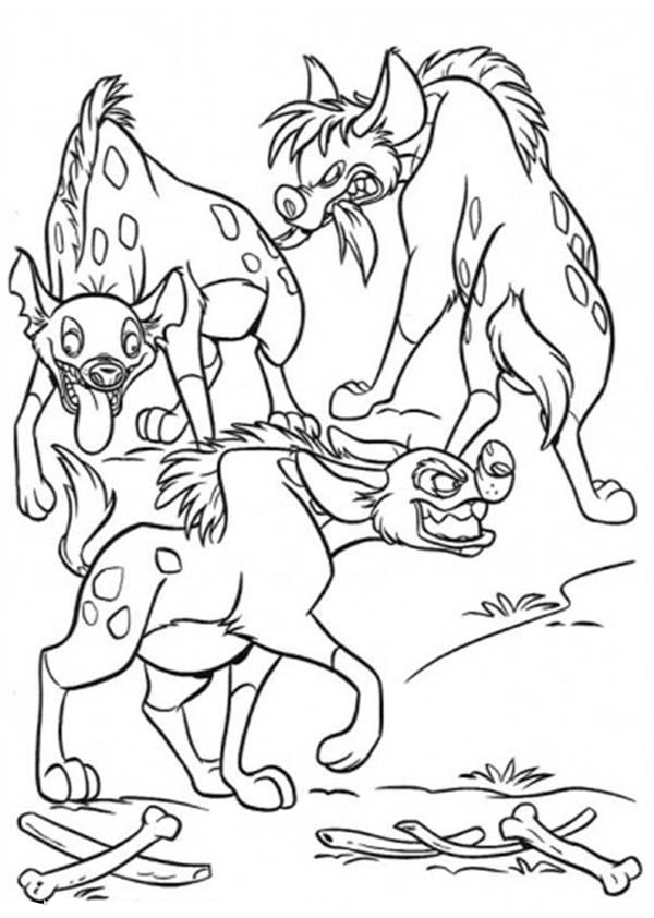 lion king hyena coloring lion king hyena coloring pages at getdrawings free download coloring hyena king lion