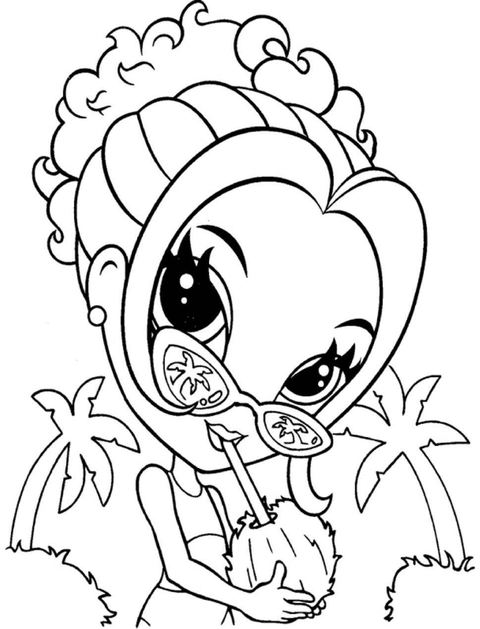 lisa frank printable coloring pages coloring page young fashionista lisa coloring pages printable frank