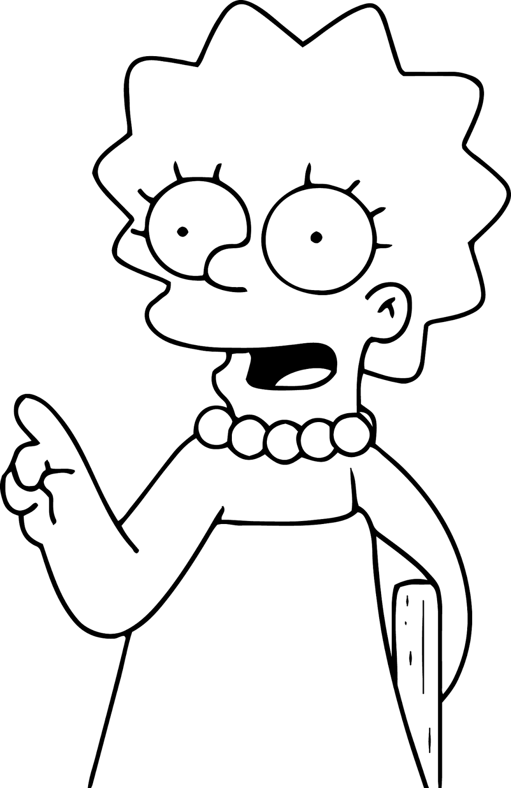 lisa simpson coloring pages lisa simpson pages coloring pages lisa simpson coloring pages
