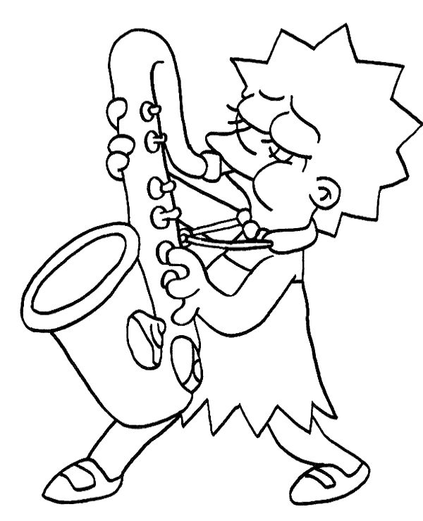 lisa simpson coloring pages lisa simpson pages coloring pages pages coloring lisa simpson