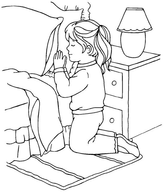 little girl praying coloring page little girl devoted doing lords prayer coloring page girl praying little coloring page