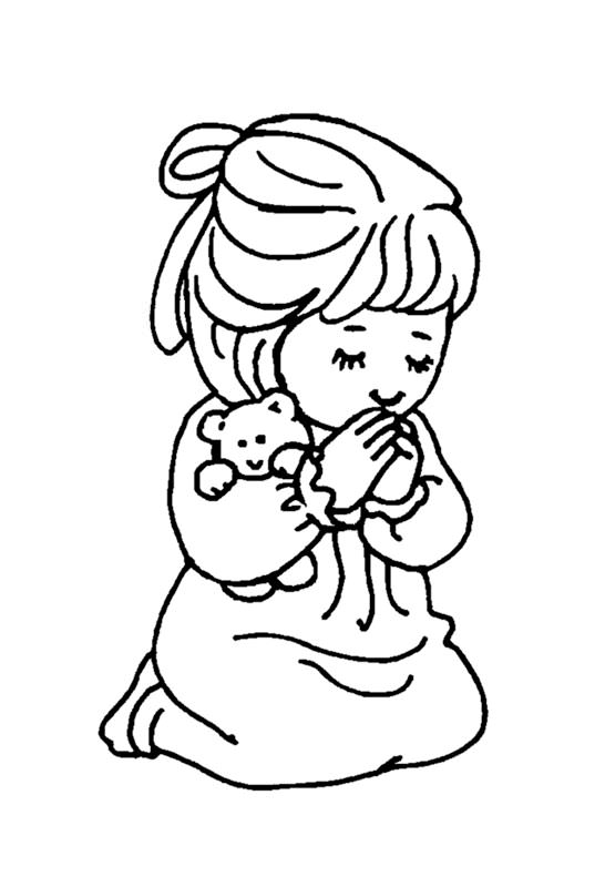 little girl praying coloring page little girl praying coloring page free printable page little praying coloring girl