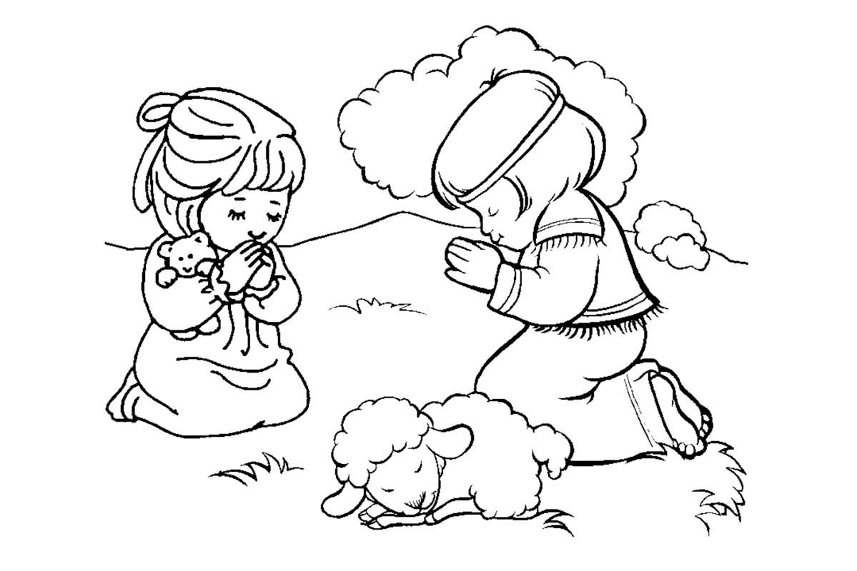 little girl praying coloring page precious moments praying coloring pages coloring home coloring little girl praying page