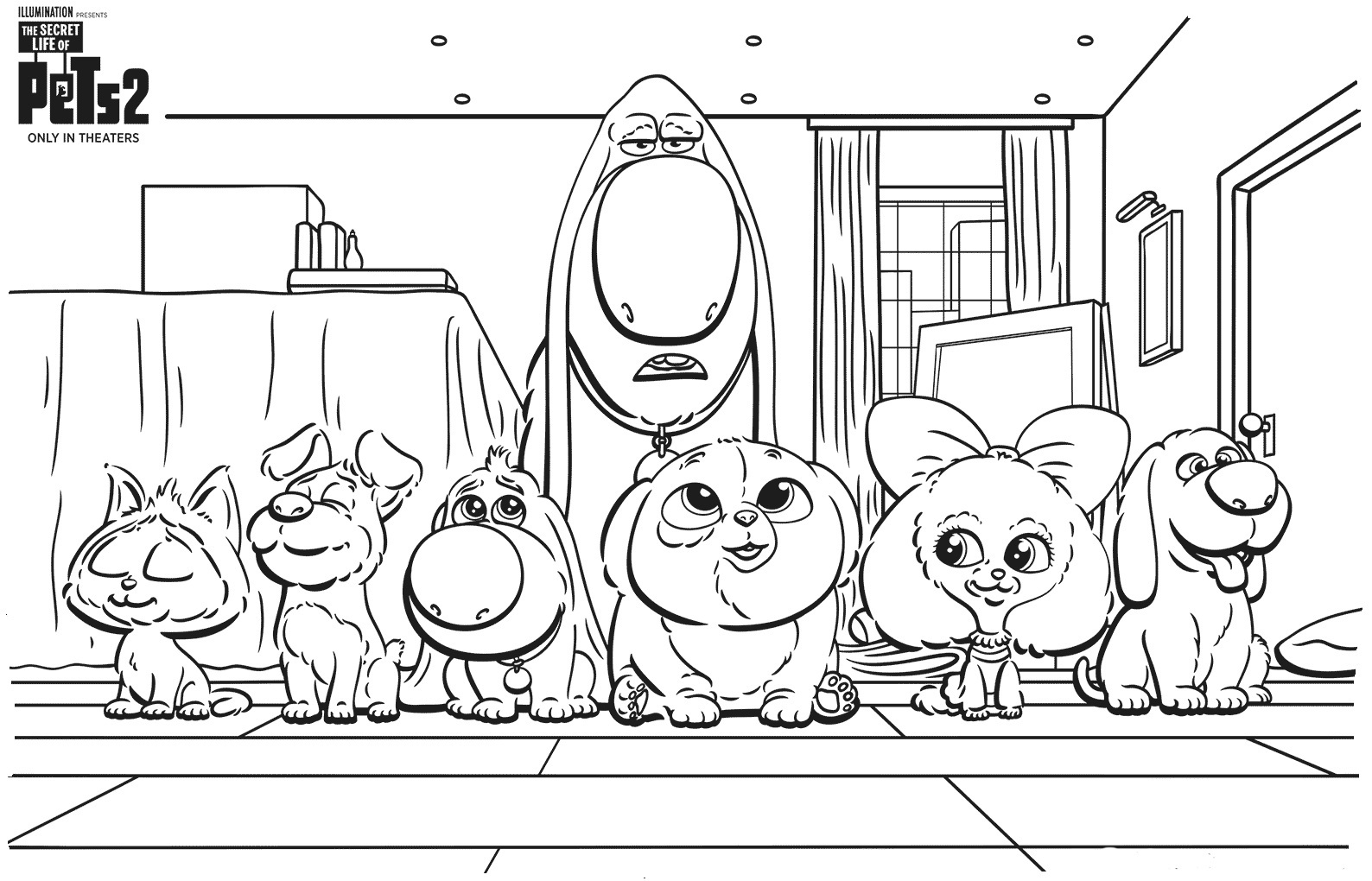little life pets coloring pages duke from the secret life of pets coloring page free little pets coloring life pages